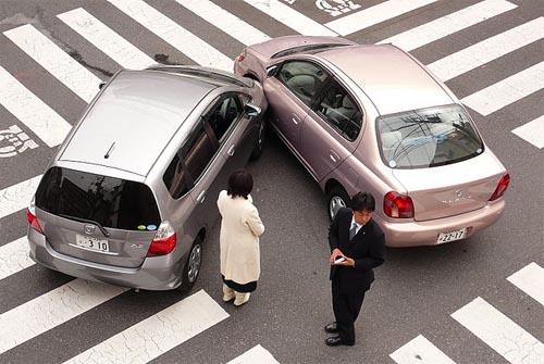 Juicio por accidente de tráfico lesiones